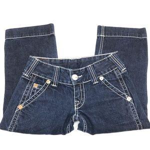 True Religion SAMMY BIG T Capri Jeans - Size 27